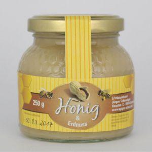 Erdnuss im Honig