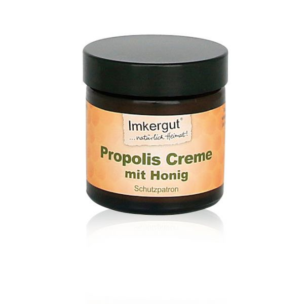propolis honig creme im 50 ml tiegel bienentau honigprodukte kaufen bienentau onlineshop imkerei. Black Bedroom Furniture Sets. Home Design Ideas