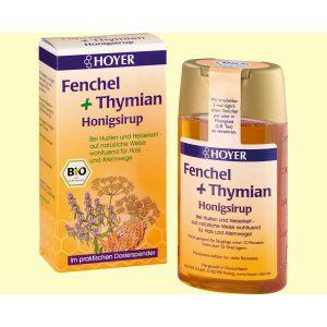 Fenchel + Thymian Honigsirup 250 ml