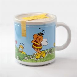 Honig in der Kindertasse